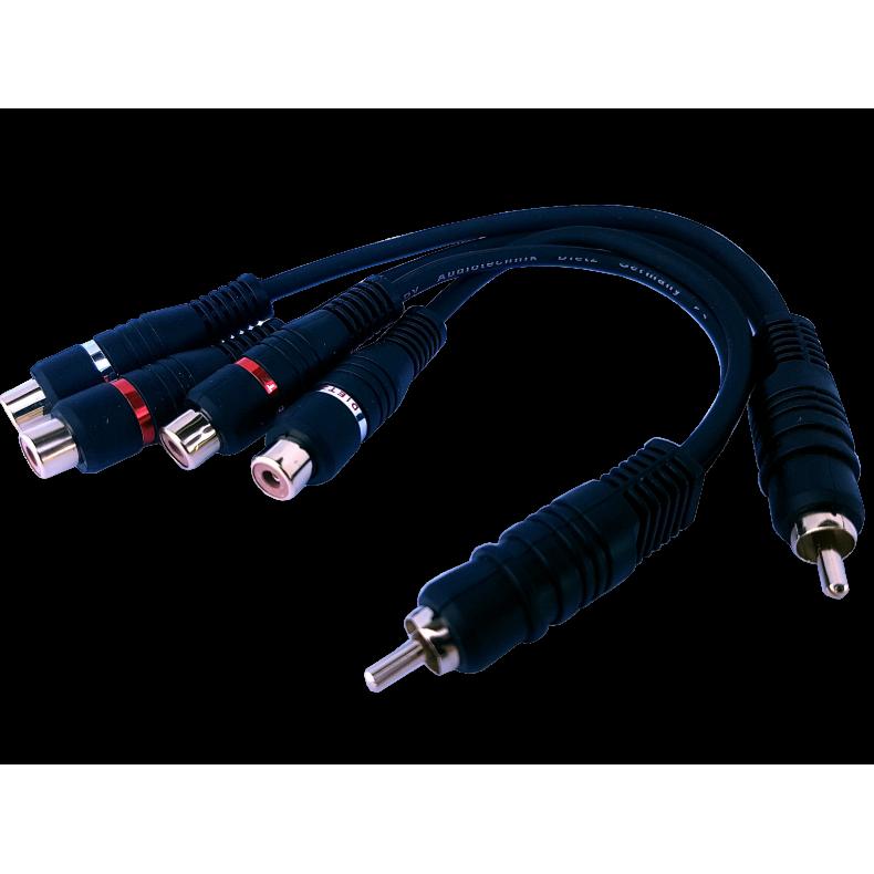 Dietz ROM RCA-Y rozdzielacz przewodów RCA żeński