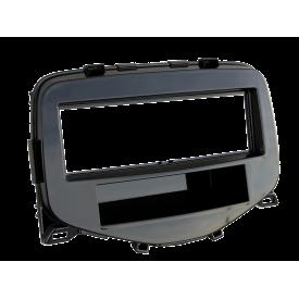 Dietz ramka radiowa czarna Peugeot 108