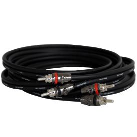 DD Audio RCA Z-Wire 2,5 metra