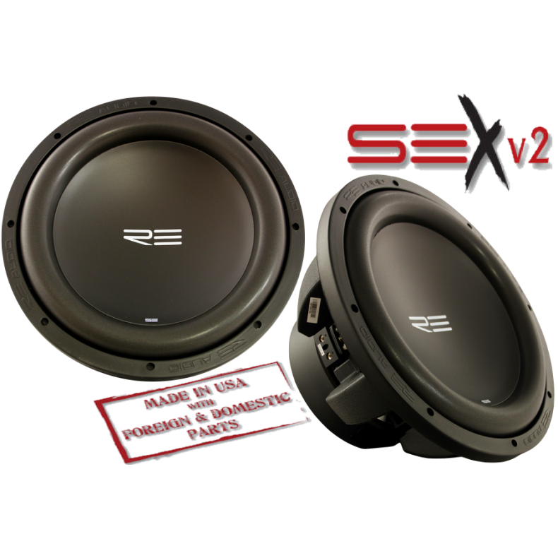 RE Audio SEX12D4 v2