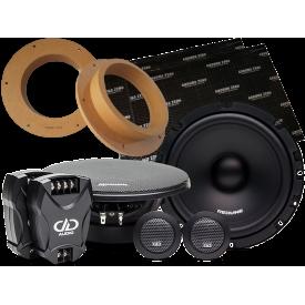 Głośniki do VW Amarok przód DD Audio RL-CS6.5