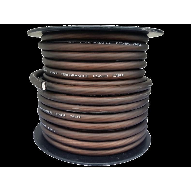 4Connect brązowy kabel zasilający 35 mm2