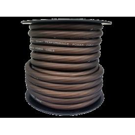 4Connect brązowy kabel zasilający 50 mm2