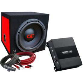 DD Audio Redline DD210 D4 Bass Kit-C