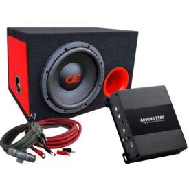 DD Audio Redline DD210 D4 Bass Kit-BR
