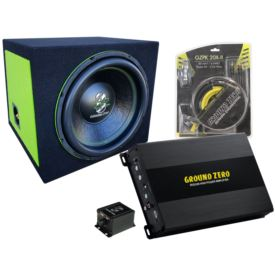 Ground Zero GZIW 12SPL Bass Kit-C Green Edition